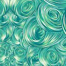Swirly Whirly (Green) by James Fosdike