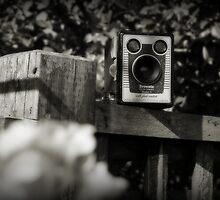 Brownie - Model D (B&W) by Anthony Superina