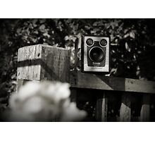 Brownie - Model D (B&W) Photographic Print