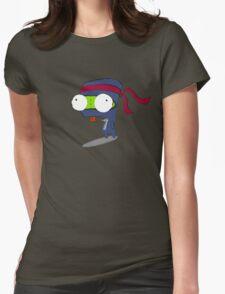 Ninja Gir Womens Fitted T-Shirt