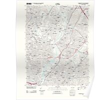 USGS Topo Map District of Columbia DC Washington East 20110627 TM Poster