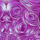 Swirly Whirly (Pink) by James Fosdike