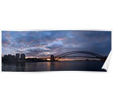 Point to Point - Sydney Harbour & Bridge - The HDR Experience Poster