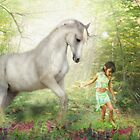 Stella and the Unicorn by Trudi&#x27;s Images