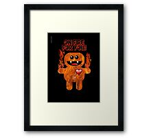 ON FIRE FOR YOU ! Framed Print