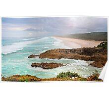 Point Lookout Nth Stradbroke Island Australia Poster