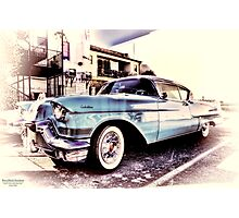 Baby Blue HDR Photographic Print