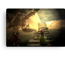 Stairways to heaven after Led Zeppelin Canvas Print