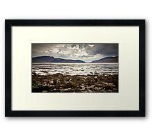 Across Lochalsh from Balmacara Framed Print