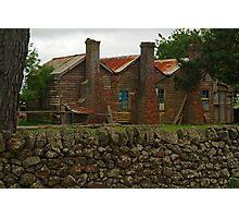 Old Farm House Photographic Print