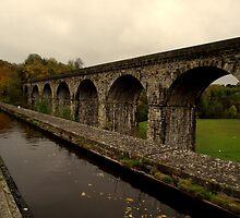 Chirk Aqueduct Powys by lorainek