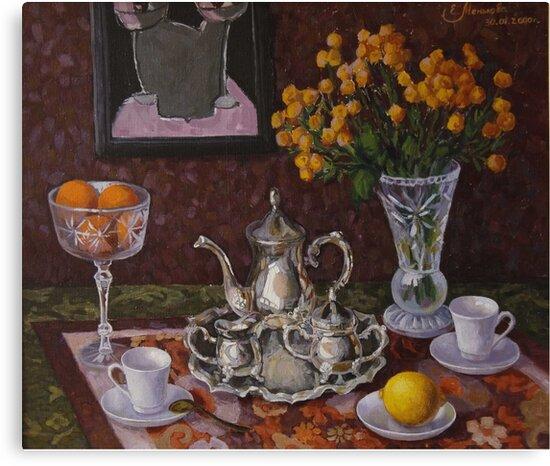 morning coffee by Ekaterina Menkova