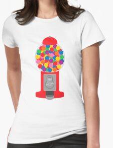 Gumball Machine Womens Fitted T-Shirt
