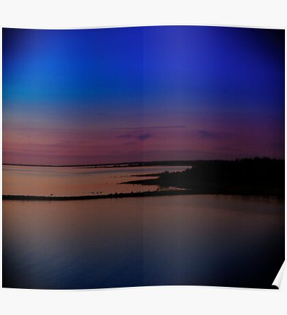 Sunset in Hiiumaa Poster