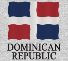 Flag Dominican Republic by stuwdamdorp