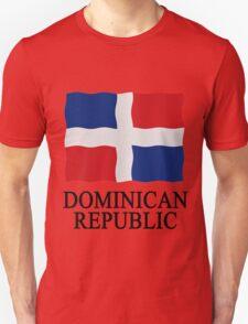 Flag Dominican Republic Unisex T-Shirt