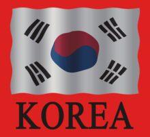 Korea Flag by stuwdamdorp