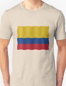 Colombian Flag Unisex T-Shirt