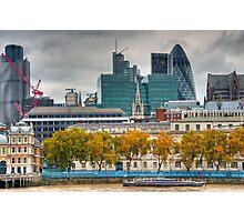 City Skyline - Autumn Photographic Print