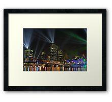 Brisbane Framed Print
