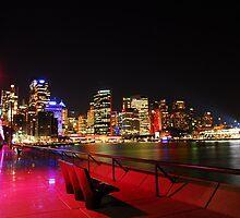 Sydney Opera House - Vivid Forecort by kelliejane