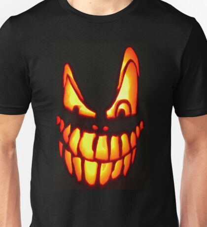 PUMPKIN FACE  Unisex T-Shirt