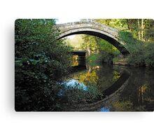 Beggars Bridge, Glaisedale, North York Moors  Canvas Print