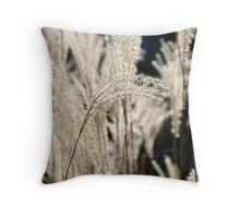 Urban Grasses Throw Pillow