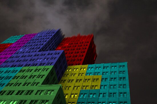 Extreme 3D Tetris by Sinuhé Bravo Photography