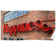 Happiness depends upon ourselves. Poster