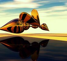Reflections of a Bee by Vanessa Barklay