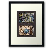 Beach Diptych Framed Print
