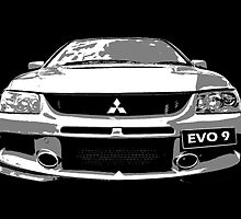 Mitsubishi Lancer Evo 9 by Clintpix