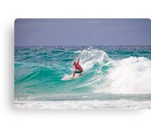 Quiksilver Pro 2011 Kelly Slater Canvas Print
