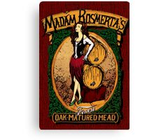 Madam Rosmerta's Finest Oak-Matured Mead Canvas Print