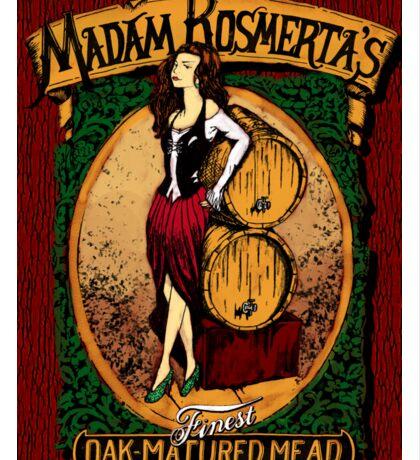 Madam Rosmerta's Finest Oak-Matured Mead Sticker