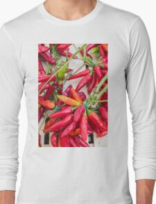 red chili Long Sleeve T-Shirt