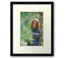 Portrait in nature Framed Print