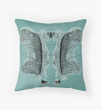 Colour ink Throw Pillow
