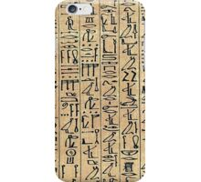 Papyrus iPhone Case/Skin