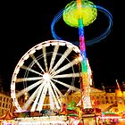 Dam Square Funfair, Amsterdam by Ludwig Wagner
