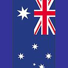 Australian flag by SOIL