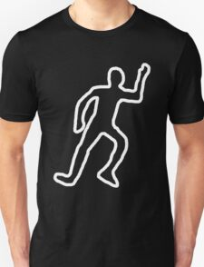 Dead body chalk outline T-Shirt