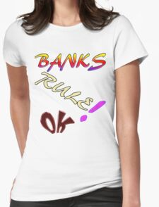 Banks2. Womens Fitted T-Shirt