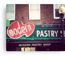 Boston's Modern Pastry Shop Canvas Print