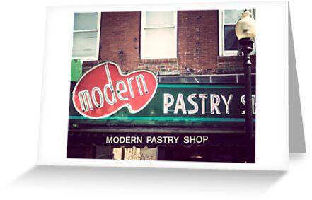 Boston's Modern Pastry Shop by JillianAudrey