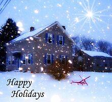 Happy Holidays Card by Debbie Robbins