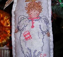 Cross Stitch Angel by jeswierz