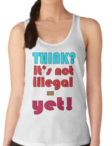 Think. Women's Tank Top