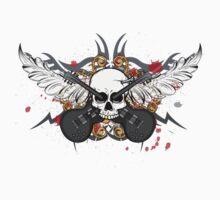 Skull Guitars by TowlerArt